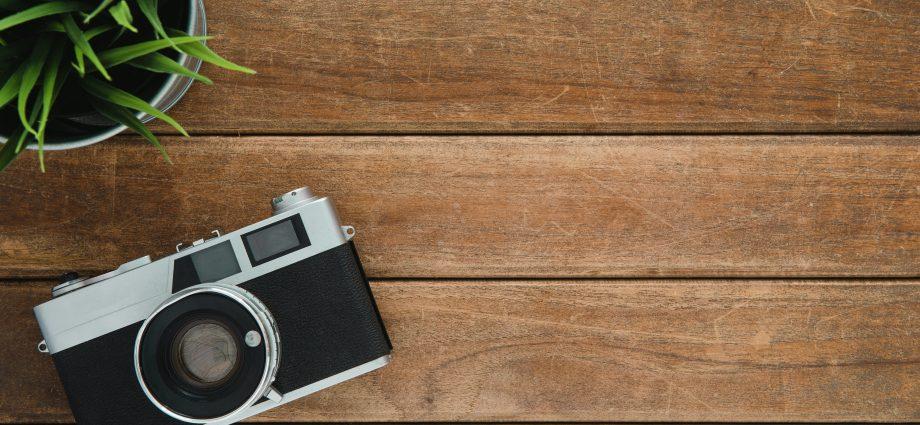 Houten fotoplank